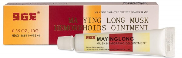 Ma Ying Long Musk Hemorrhoids Ointment