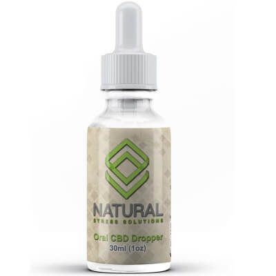 Natural Stress Solutions Pure CBD Oil